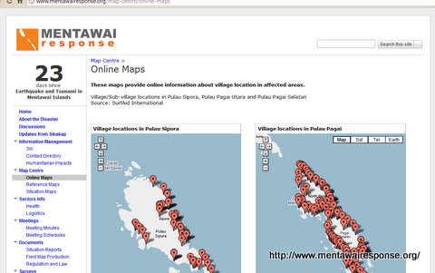 Mentawai Response
