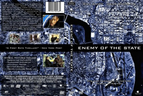 Poster Film Enemy of The State (1998)