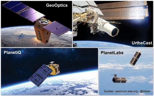 Berbagai satelit yang akan memayungi bumi kita.